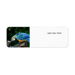 parrot address lables label