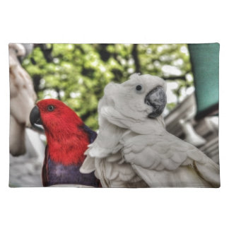 Parrot and Cockatoo Place Mat