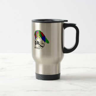 Parrot and Pirate Skull Coffee Mugs