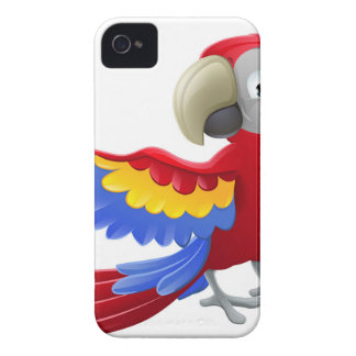 Parrot Animal Cartoon Character Case-Mate iPhone 4 Case