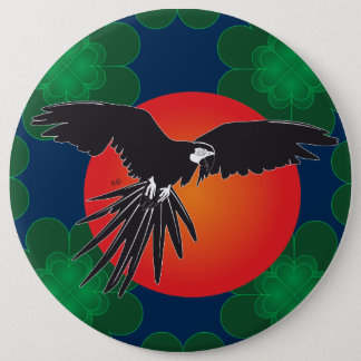 Parrot Ara magnet Pinback Button