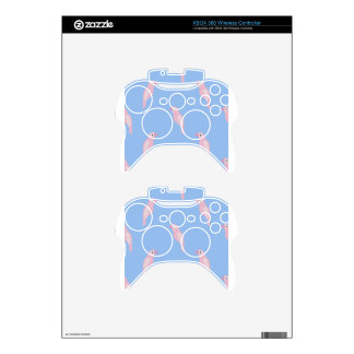 Parrot Ara Seamless Colorful Vector Pattern Xbox 360 Controller Skin