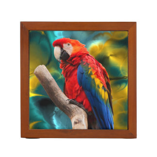 Parrot Art 1 Desk Organizer