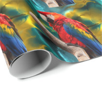Parrot Art 1 Wrapping Paper