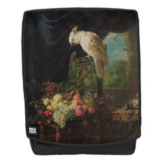 Parrot art backpack