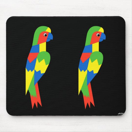 Parrot - Art Gallery Selection Mouse Pad