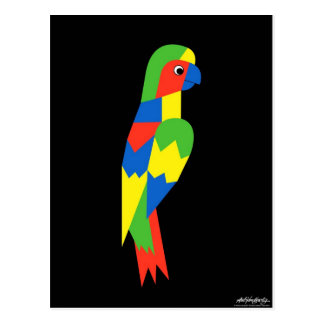 Parrot - Art Gallery Selection Postcard