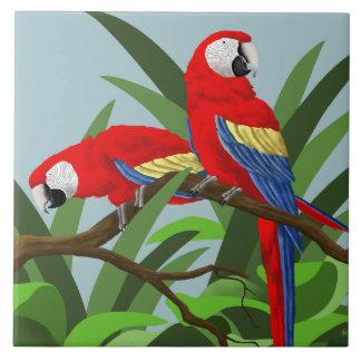 Parrot Art Tiles