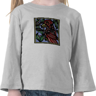 Parrot Artwork Drawing Shirts