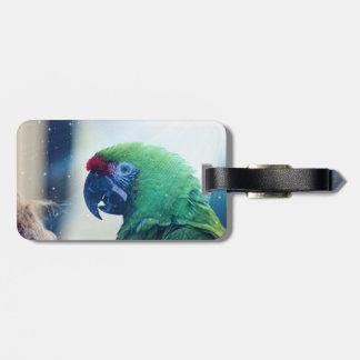 Parrot Bag Tag