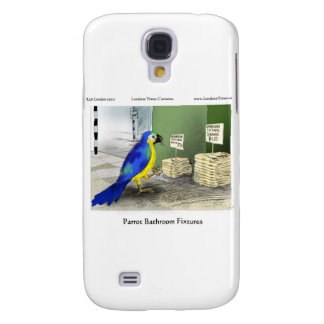 Parrot Bathroom Fixtures Mugs Cards Gifts Samsung Galaxy S4 Case