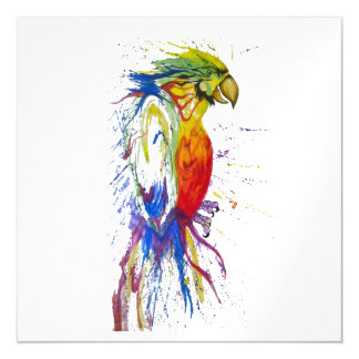 Parrot Bird Animal Magnetic Card