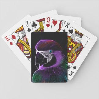 Parrot Bird Playing Cards