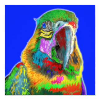 Parrot (brushed) personalized announcements
