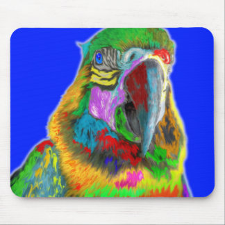 Parrot (brushed) mouse pad