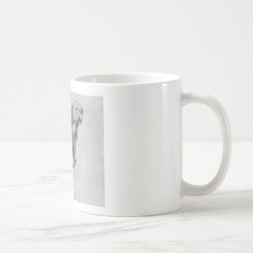 Parrot by Albrecht Durer Classic White Coffee Mug