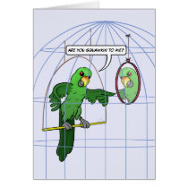 Parrot Cage Fight Card