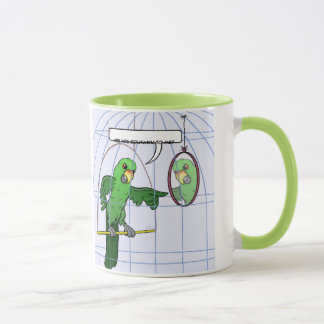 Parrot Cage Fight Mug