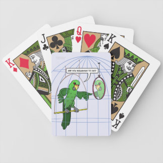 Parrot Cage Fight Playing Cards