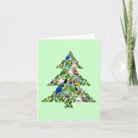 Parrot Christmas Tree 4