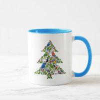 Parrot Christmas Tree Combo Mug