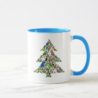 Parrot Christmas Tree Mug