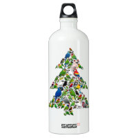 Parrot Christmas Tree SIGG Traveller Water Bottle (0.6L)
