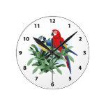 Parrot Clocks