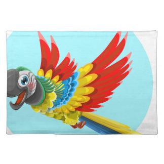 parrot cloth placemat