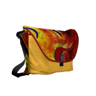 Parrot Curves Messenger Bag