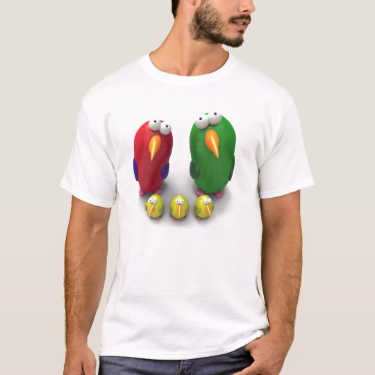 Parrot family Cool Tshirt