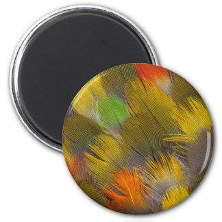 Parrot Feather Design Magnet