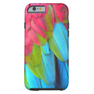 Parrot Feathers iPhone 6 case