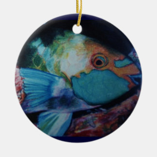 Parrot Fish Ornament