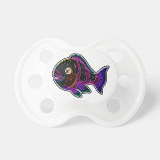 Parrot fish pacifier