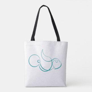 Parrot-Fish Tote Bag