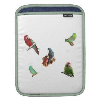 Parrot Flock iPad Sleeve