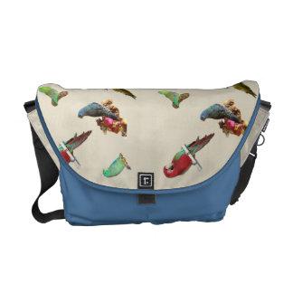 Parrot Flock Messenger Bag