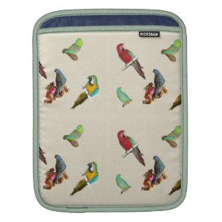 Parrot Flock Rickshaw Sleeve iPad Sleeves