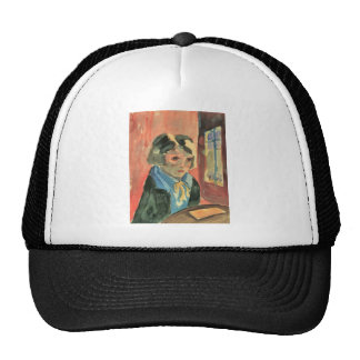 Parrot Girl (Sonia Gramatte) by Walter Gramatte Trucker Hat