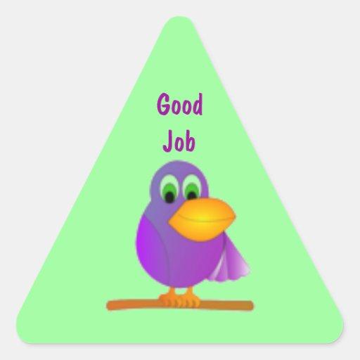 Parrot Good Job Sticker Seal