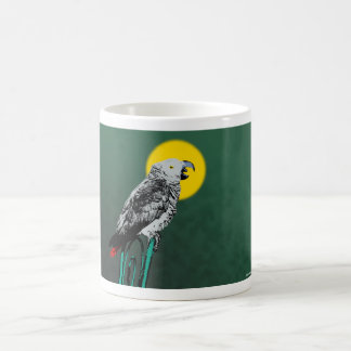 Parrot Greets The Day Coffee Mug