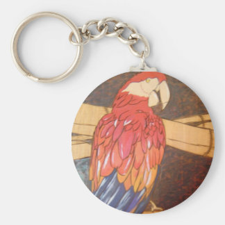 Parrot Head Keychain