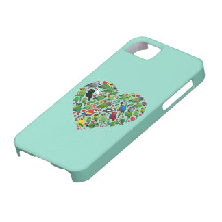 Parrot Heart iPhone SE/5/5s Case