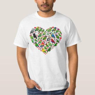 Parrot Heart Shirt