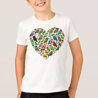 Parrot Heart T-Shirt
