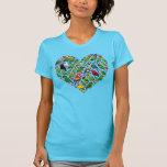 Parrot Heart Tshirts