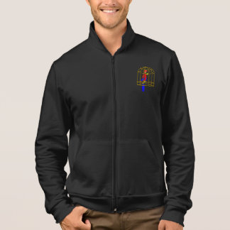 Parrot In A Cage Mens Jacket