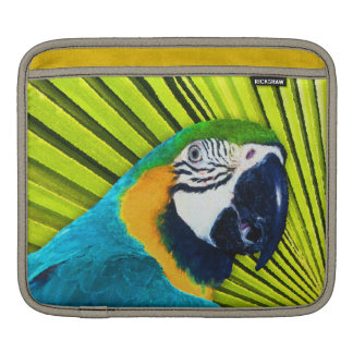 Parrot In Palm Tree iPad Sleeve