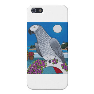 Parrot in Paradise Case For iPhone SE/5/5s